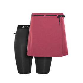 VAUDE Tremalzo II Cycling Shorts Women red
